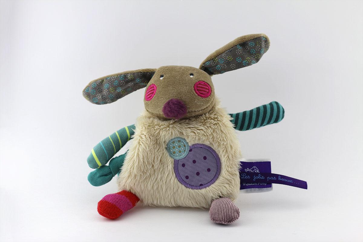Doudou mouchoir lapin
